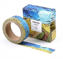 Load image into Gallery viewer, Van Gogh Washi Tape