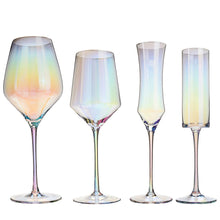 Load image into Gallery viewer, Rainbow Wine Glass