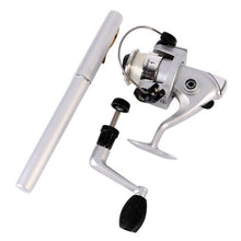 Load image into Gallery viewer, Portable Mini Pocket Pen Fishing Rod + Reel