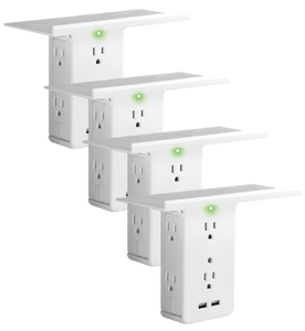 Multi-function plug socket outlet adapter