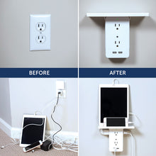 Load image into Gallery viewer, Multi-function plug socket outlet adapter