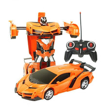 Load image into Gallery viewer, Transformer RC Car Orange