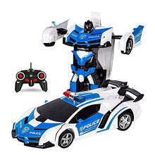 Load image into Gallery viewer, Transformer RC Car Police Car