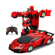 Load image into Gallery viewer, Transformer RC Car Red