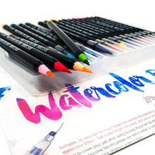 Load image into Gallery viewer, Watercolor Brush Pens - 20 Piece Set