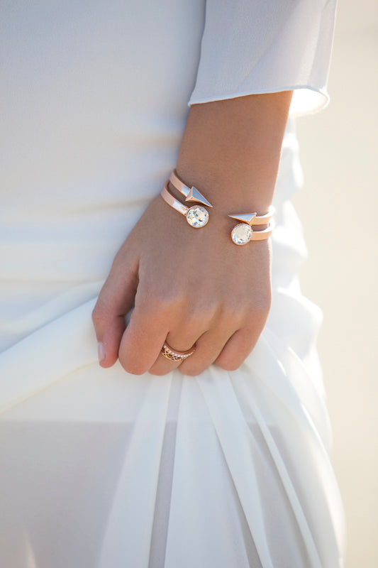 Show Me The Way Fine Bracelet Duo - Rose Gold