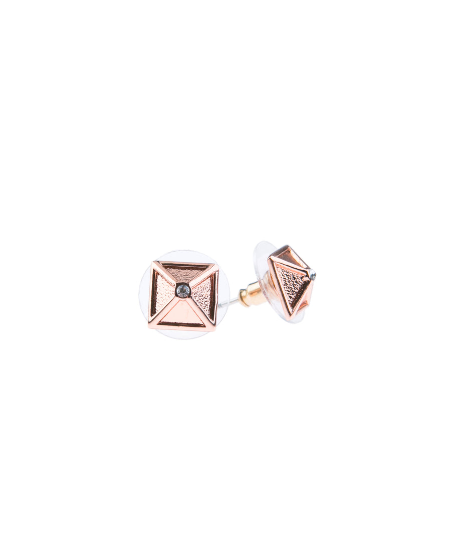 Canopy Of Stars Fine Studs - Rose Gold