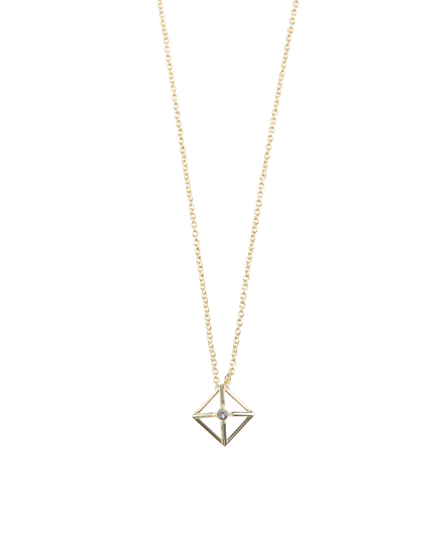 Canopy Of Stars Fine Necklace - Gold