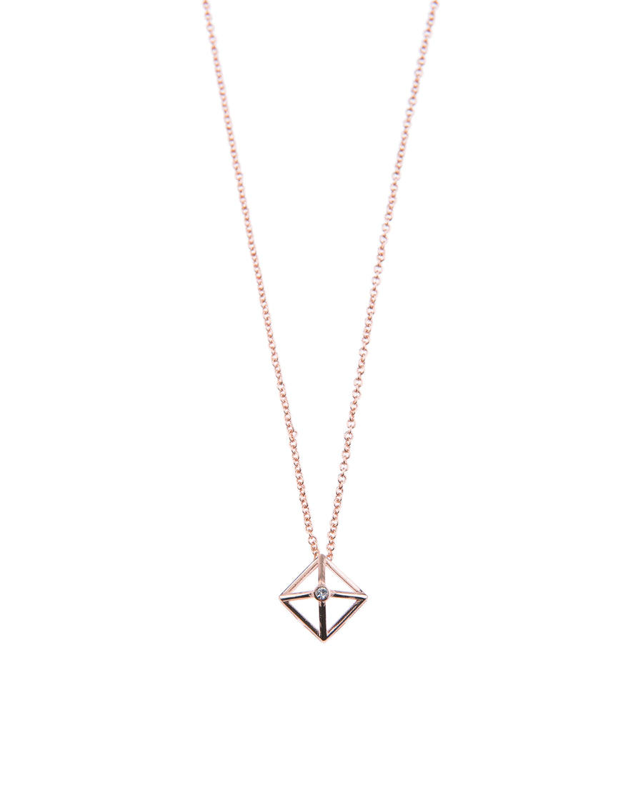 Canopy Of Stars Fine Necklace - Rose Gold