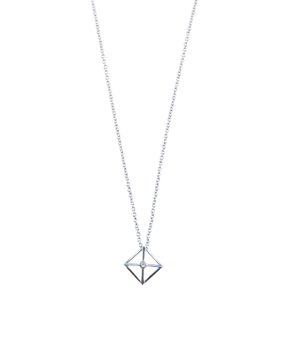 Canopy Of Stars Fine Necklace - Silver