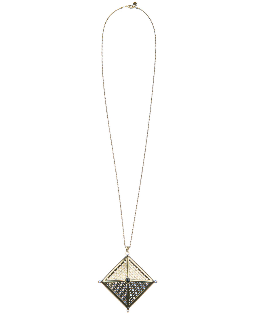 Canopy Of Stars Statement Necklace - Gold