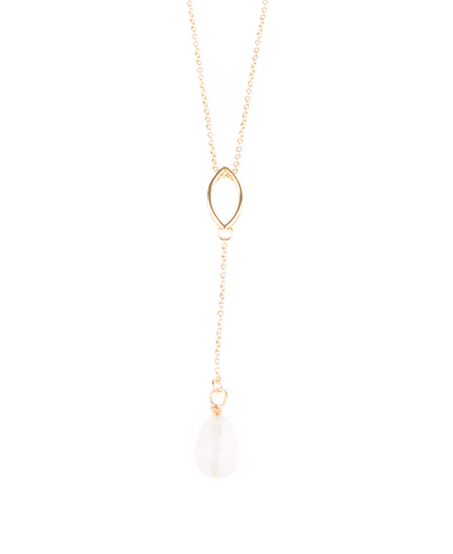 Catch Me If I Fall Fine Necklace - Gold