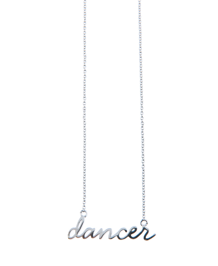 Dancer Fine Necklace - Silver