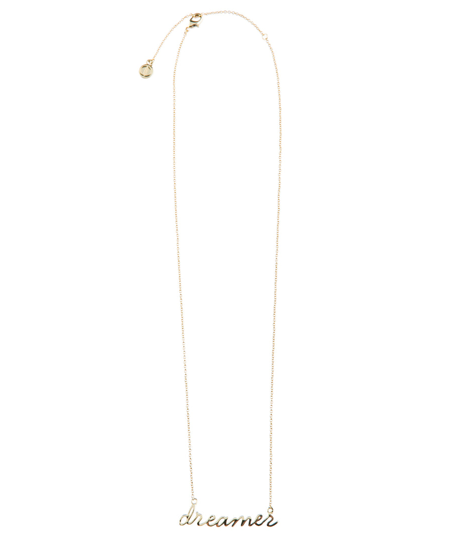 Dreamer Fine Necklace - Gold