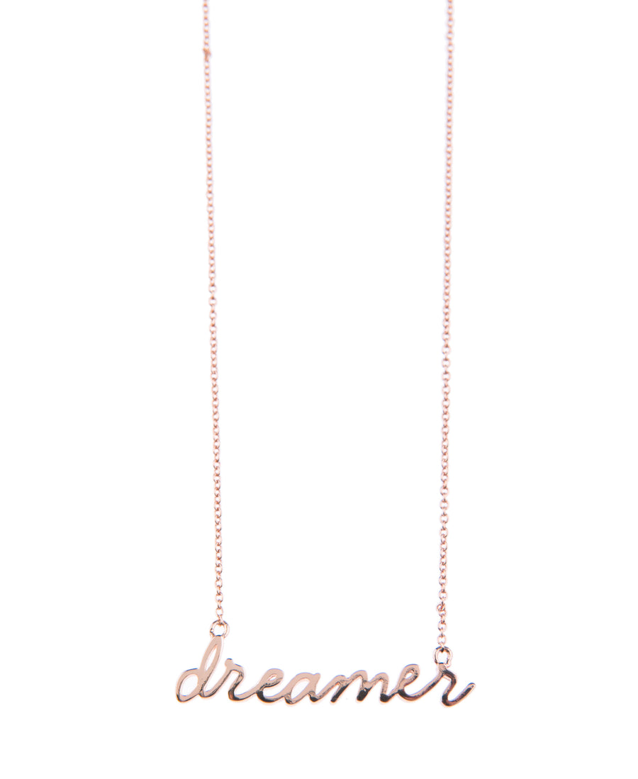 Dreamer Fine Necklace - Rose Gold