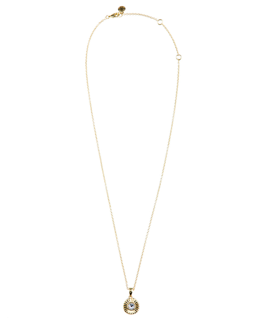 Light Up The Night Fine Necklace - Gold