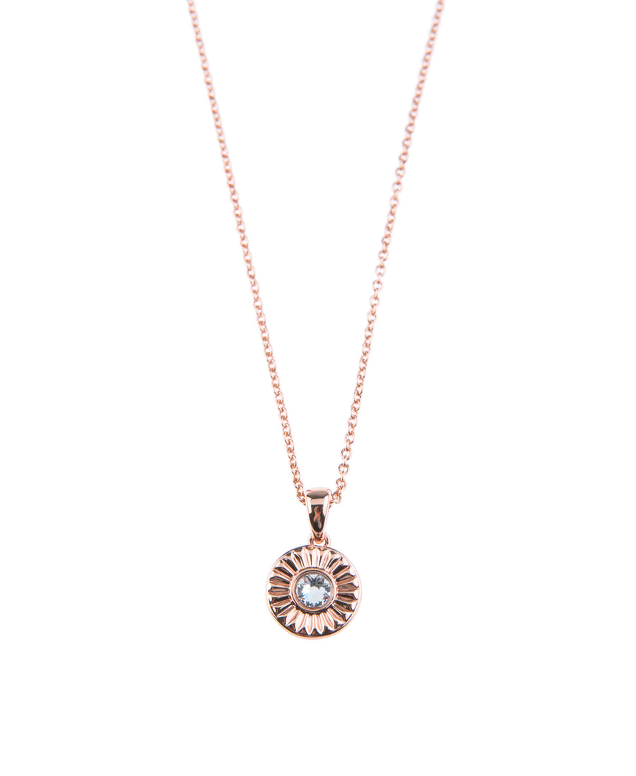 Light Up The Night Fine Necklace - Rose Gold