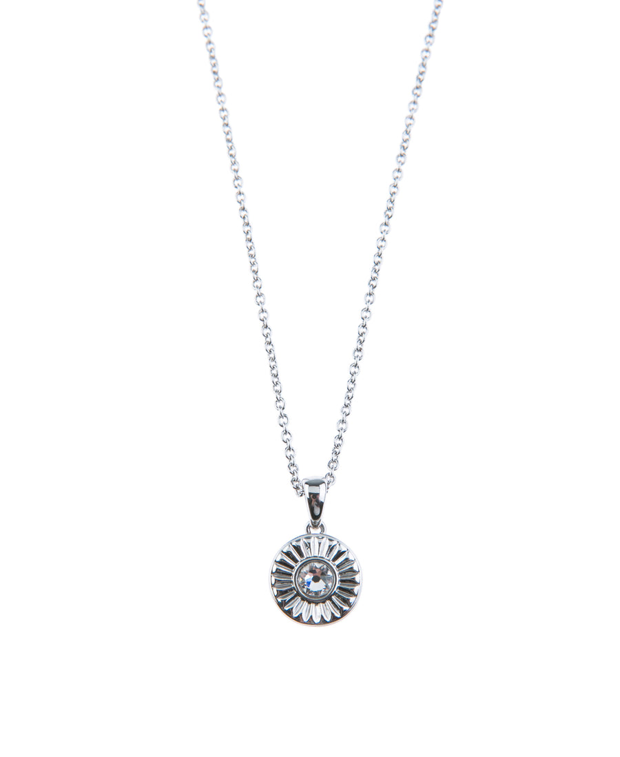 Light Up The Night Fine Necklace - Silver