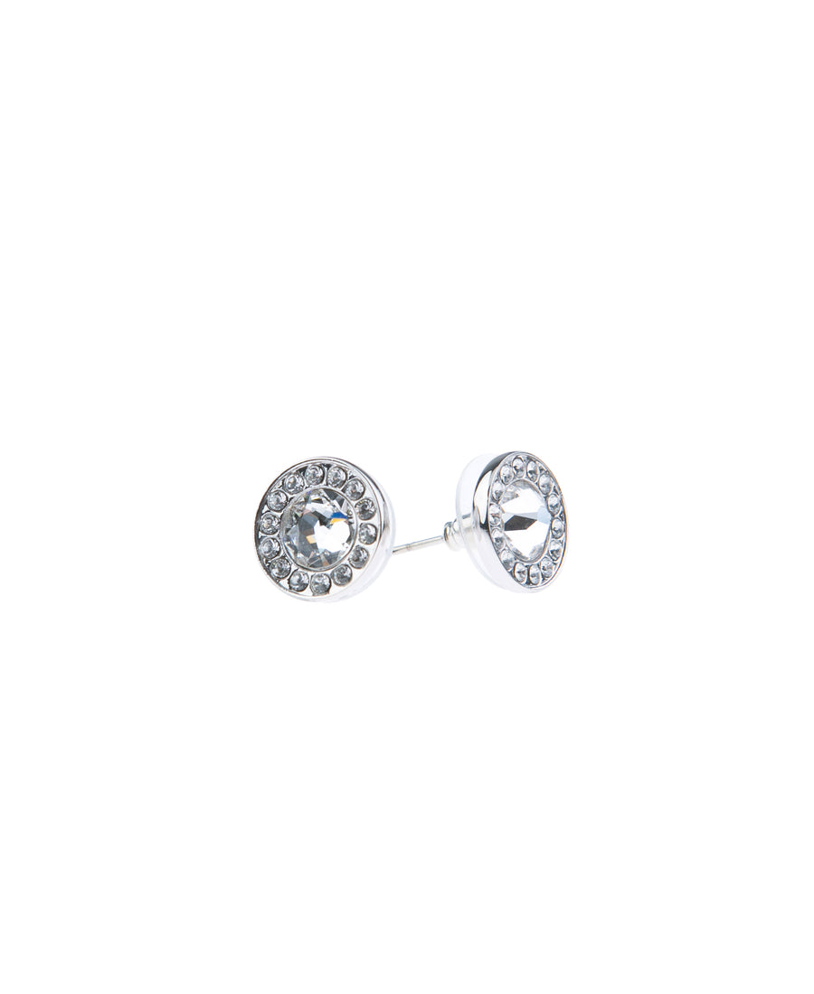 Light Up The Night Fine Studs - Silver