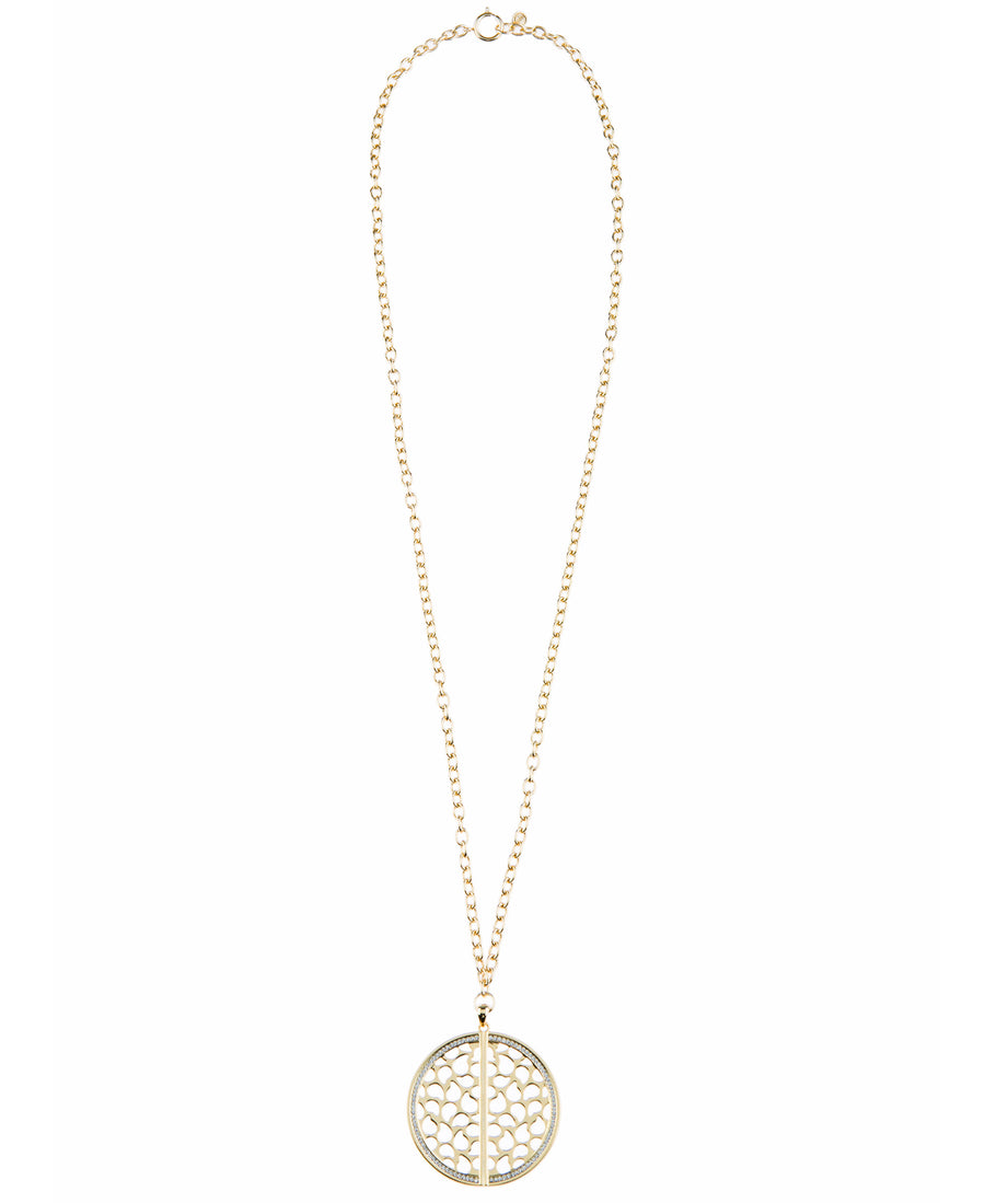 Of Dreamers and Dancers Signature Necklace - Gold