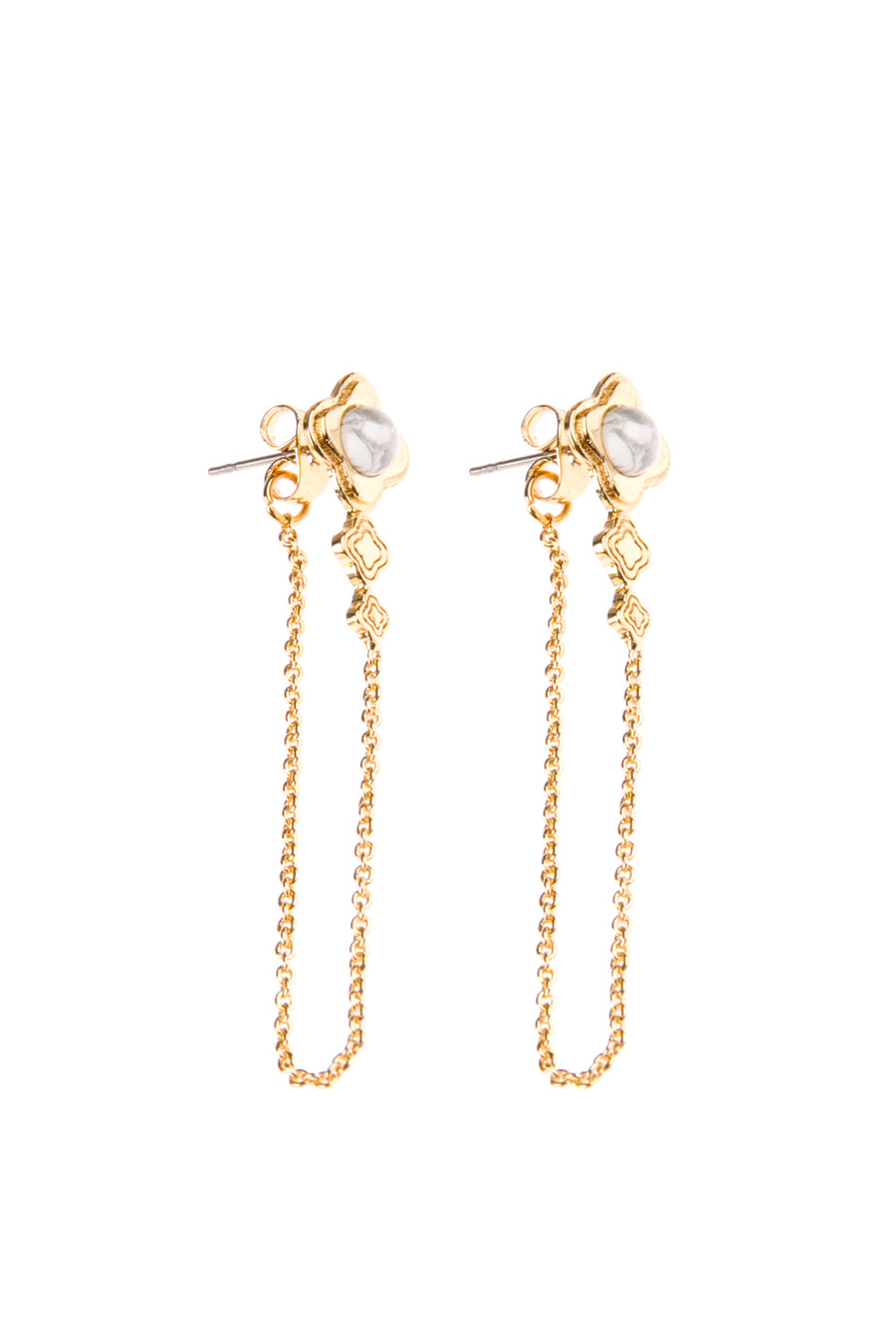 Sojourns At Sunset Fine Studs - Gold