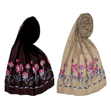 Load image into Gallery viewer, Designer Diamond Cotton Ari Scarves-Combo pack