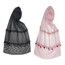 Load image into Gallery viewer, Designer double lace stole- Combo pack