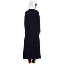 Load image into Gallery viewer, Embroidery abaya with bead work