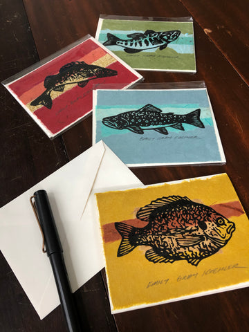 Card Pack: Fish (4 Pack)
