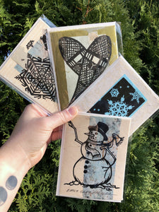 Card Pack: Let It Snow (4 Pack)