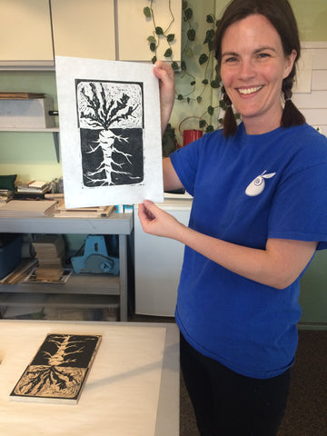 Basic Woodcut Printmaking