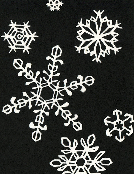 Holiday Cards - Snowflakes (Set of 4)