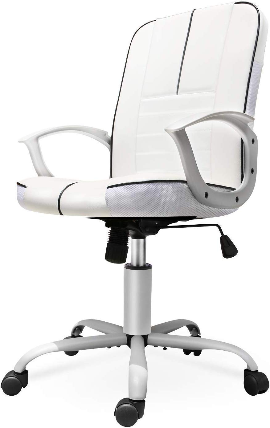 Smugdesk Ergonomic Bonded Leather Office Computer Chair