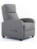 Smugdesk Recliner Sofa, Recliner Winback Single Sofa Home Theater Seating Gray