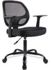 Smugdesk Mid-Back Desk Office Chair Task Chair with Armrests - Mesh Back, Swivel Chair