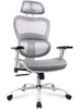 SmugChair Ergonomic High Back Adjustable Office Chair-GREY