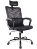 SmugChair Ergonomic Black Mesh High Back Office Chair