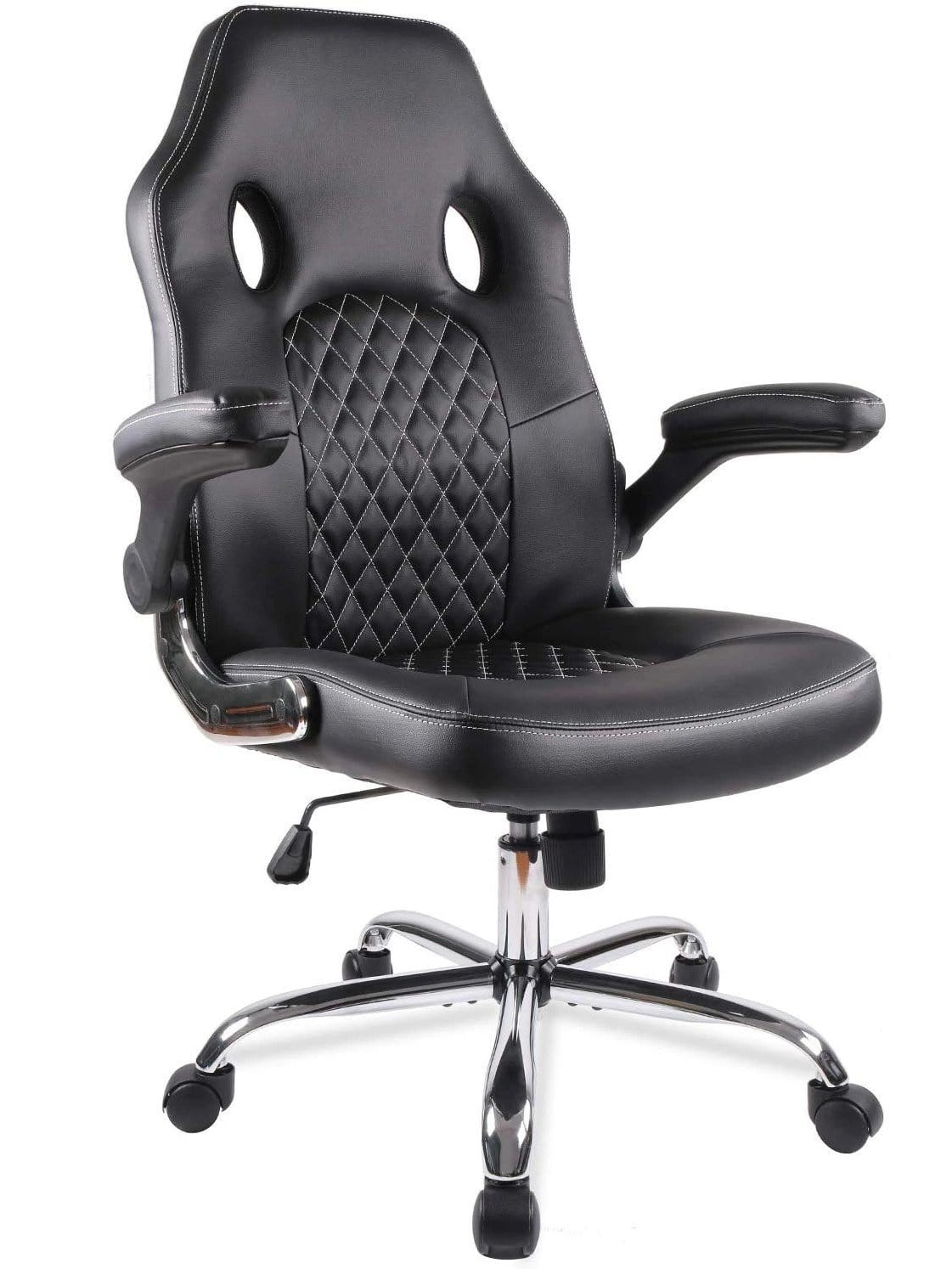 Smugdesk Office Chair Desk Leather Gaming Chair High Back Ergonomic A