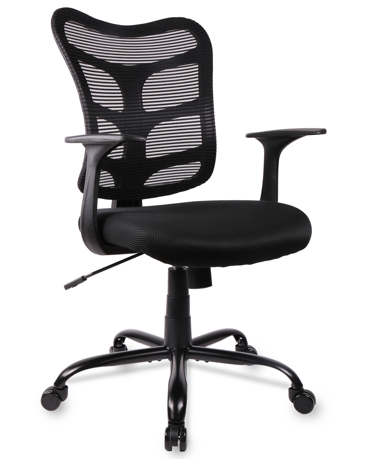 SmugChair Ergonomic Mid Back Mesh Office Chair