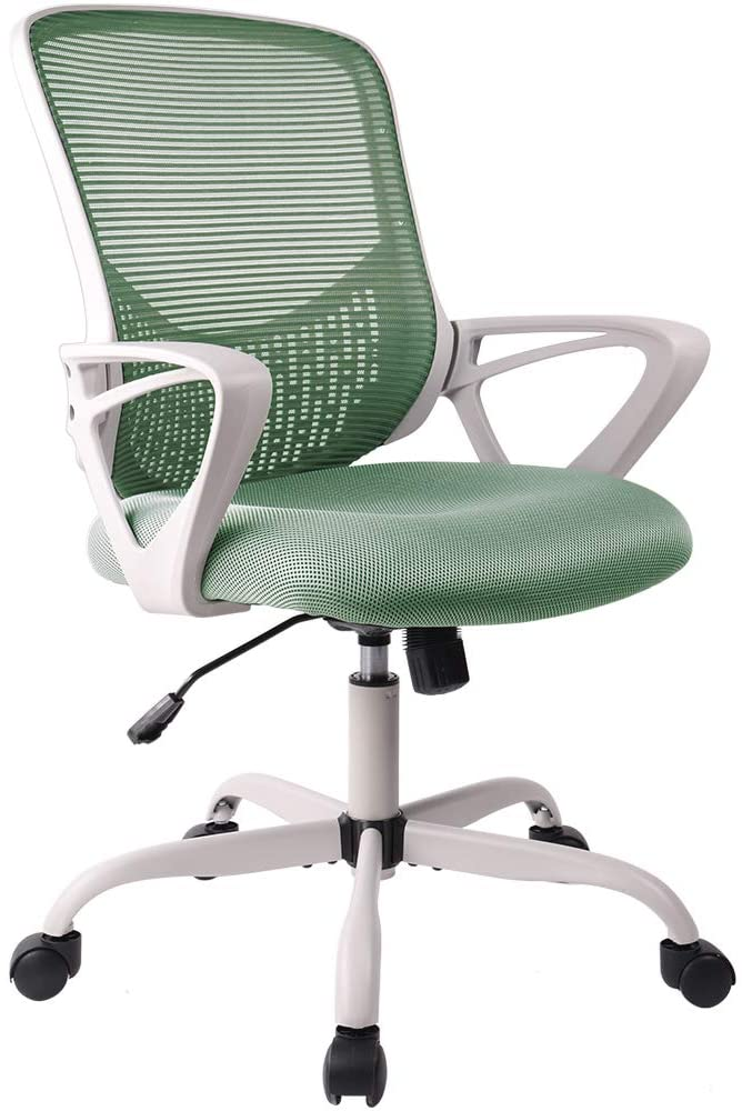 Office Chair Ergonomic Desk Chair Mesh Computer Task Chair with Lumbar Support Armrest for Home Office Conference Study Room