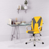 Ergonomic Office Chair Desk Chair Executive Bonded Leather Computer Chair, Yellow