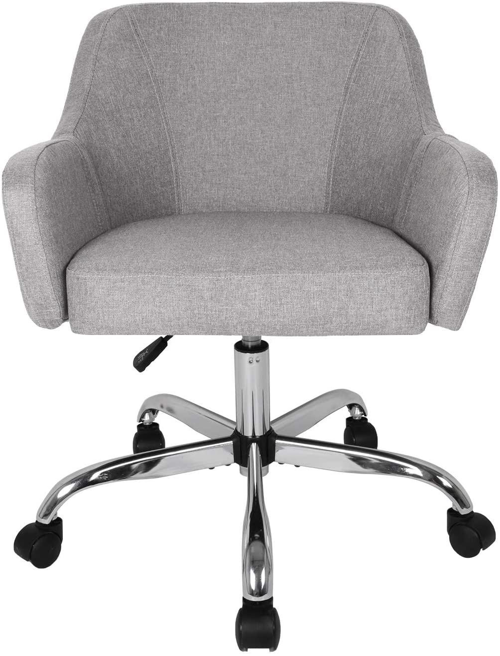 SMUGDESK Home Office Adjustable Padded Computer Task Chair Office Leisure Grey