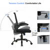 Ergonomic Massage Office Chair Mesh Computer Chair Executive Task Chair with Lumbar Support Arms Mid back Adjustable Chair