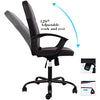 Smugdesk Ergonomic Executive Mid Back Leather Chair