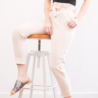 [E-Classes] Paperbag Pants with Zipper Fly & Pockets *Custom Fit