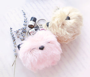 Lavender Scented Cat Bag Charm
