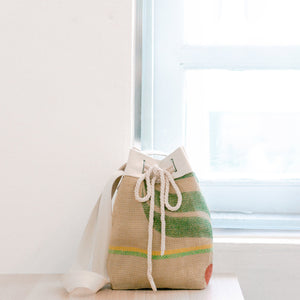 Bettr Barista X FMS: Upcycled Coffee Sack BUCKET BAG