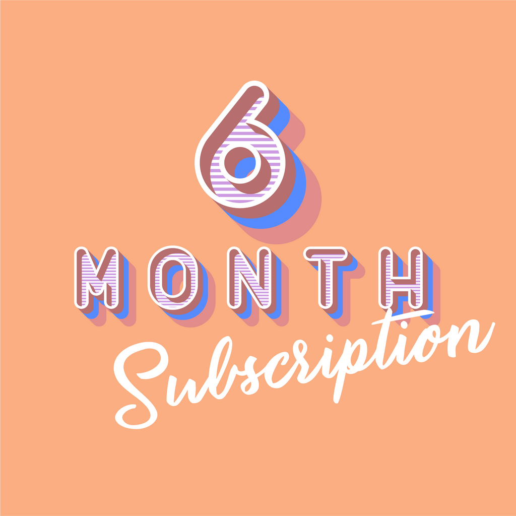 Cut & Sew Subscription: 6-month Basic Plan (Soft Launch)
