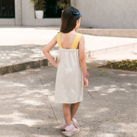 Kidswear: NEW COLLECTION - Asymmetric Girl's Dress with Flap K208 *Custom Fit