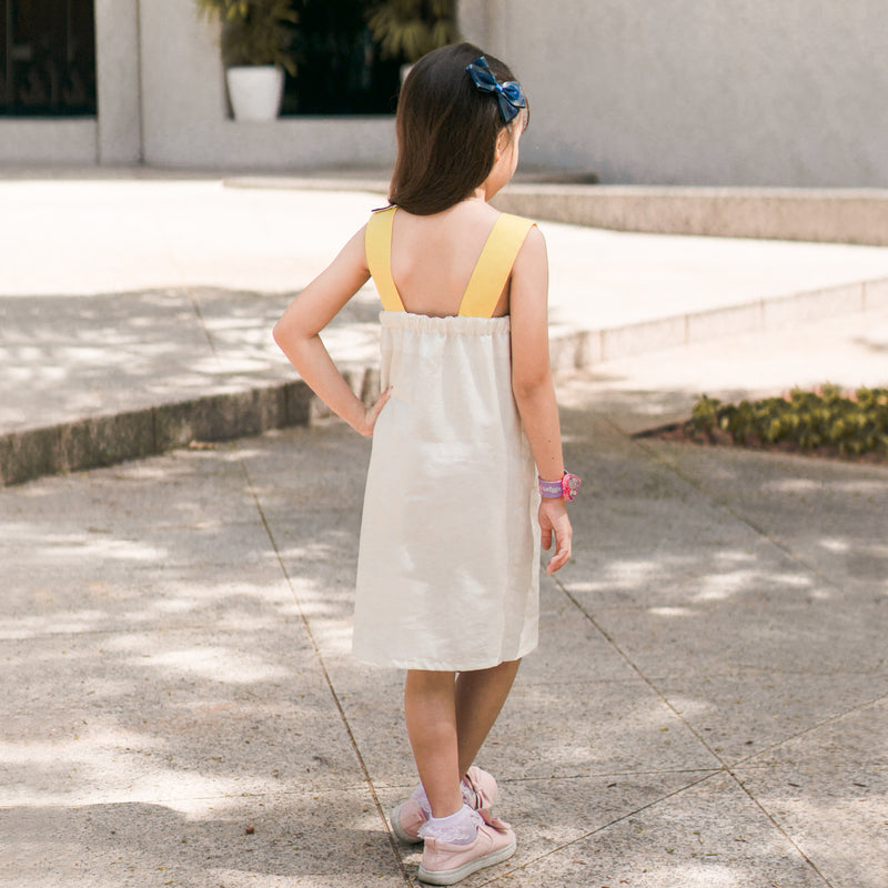 Live Class: Girl's Asymmetric Dress with Flap